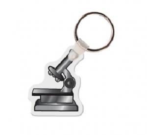 Microscope Soft Vinyl Keychain