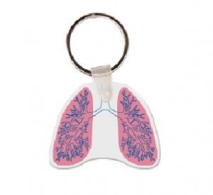 Lungs Soft Vinyl Keychain