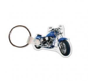 Motorcycle Vinyl Keychain