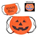 Jack-o-Lantern Drawstring Trick-or-Treater's Bag