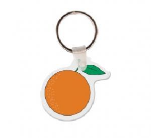 Orange Soft Vinyl Keychain