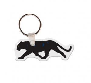 Black Panther Soft Vinyl Keychain