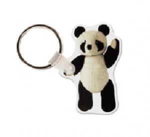 Panda Bear Soft Vinyl Keychain