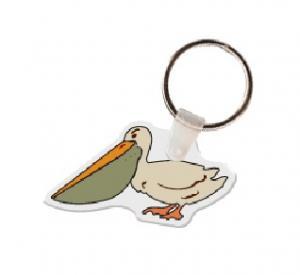 Pelican Soft Vinyl Keychain
