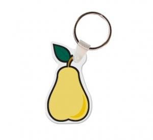 Pear Soft Vinyl Keychain