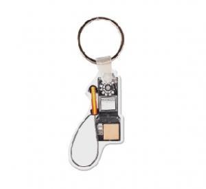 Pay Phone Soft Vinyl Keychain