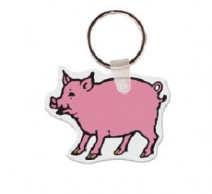 Pig Soft Vinyl Keychain