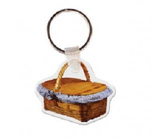 Picnic Basket Soft Vinyl Keychain