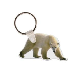Polar Bear Soft Vinyl Keychain
