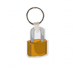 Padlock Vinyl Keychain