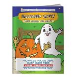 """Halloween Safety With Gilbert The Ghost"" Coloring Book"
