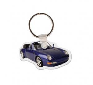 Porsche #2 Soft Vinyl Key Tag