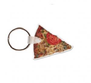 Slice of Pizza Soft Vinyl Key Tag