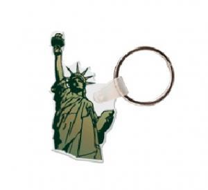 Statue of Liberty Soft Vinyl Key Tag