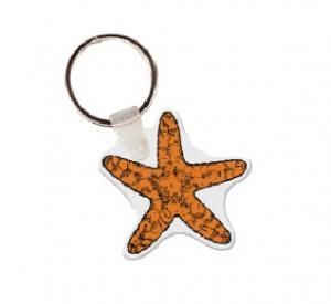 Star Fish Soft Vinyl Keychain