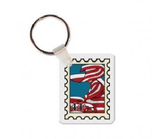 Stamp Soft Vinyl Keychain