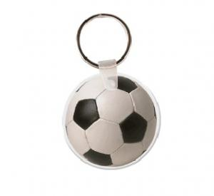 Soccer Ball Vinyl Key Tag