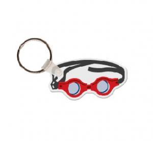 Swim Goggles Soft Vinyl Key Tag