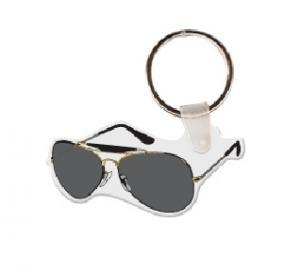 Aviator Sunglasses Soft Vinyl Key Tag