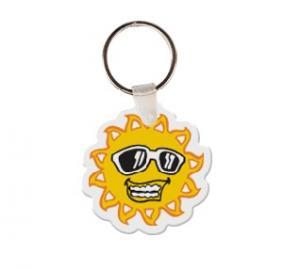 Sun Soft Vinyl Keychain