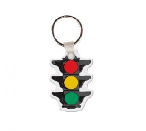 Stoplight Soft Vinyl Keychain