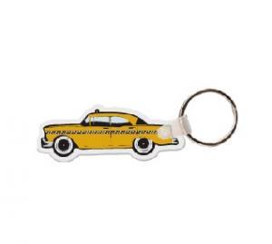 Taxi Soft Vinyl Keychain
