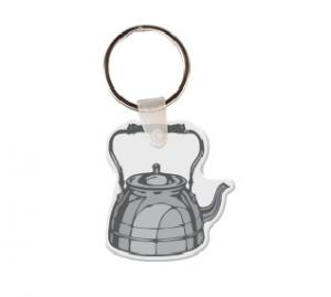 Teapot Soft Vinyl Keychain