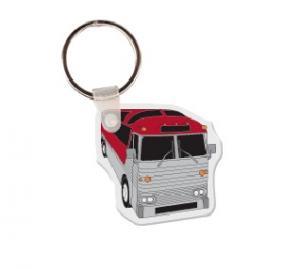 Tour Bus Soft Vinyl Keychain
