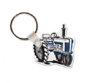 Tractor Soft Vinyl Keychain