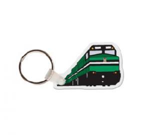 Train Soft Vinyl Keychain