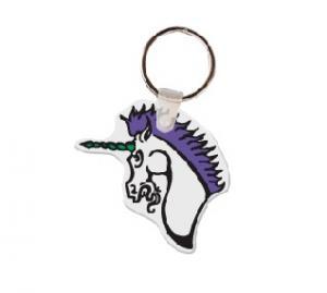 Unicorn Soft Vinyl Keychain