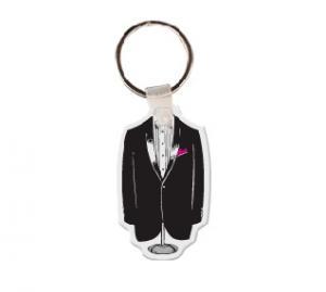 Tuxedo Soft Vinyl Keychain
