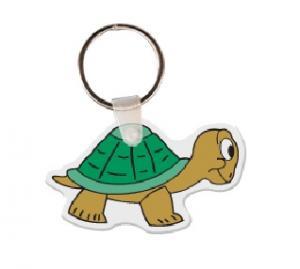 Turtle Soft Vinyl Key Tag