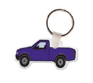 Pickup Truck Soft Vinyl Key Tag