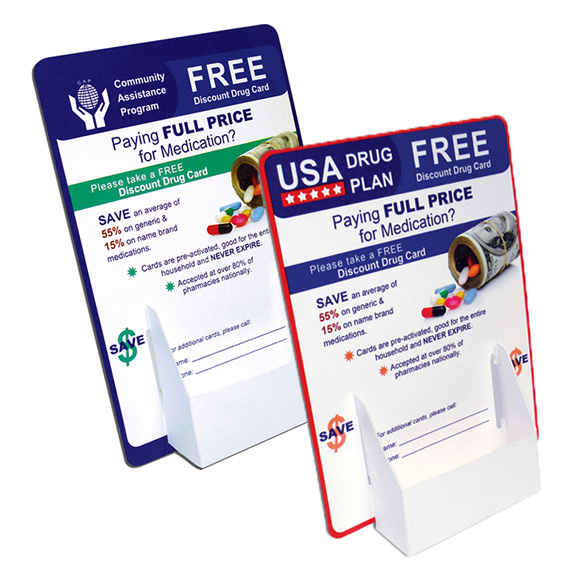 Retail Brochure/Card Holder Displays