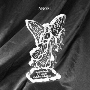 Angel Shaped Acrylic Award Paperweight