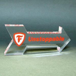 Arrow Shaped Acrylic Award/Paperweight