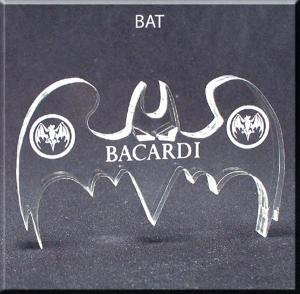Bat Shaped Acrylic Award/Paperweight