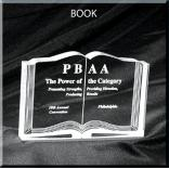 Book Shaped Acrylic Award/Paperweight