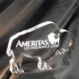 Buffalo Shaped Acrylic Award/Paperweight