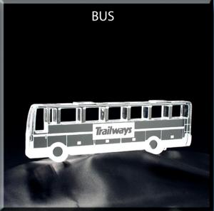Bus Shaped Acrylic Award/Paperweight