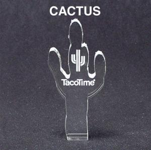 Cactus Shaped Acrylic Award/Paperweight