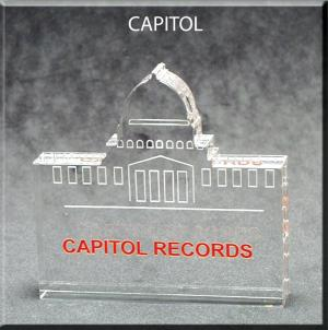 Capitol Building Shaped Acrylic Award/Paperweight