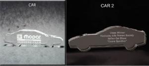 Car Shaped Acrylic Award/Paperweight