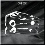 Cheese Shaped Acrylic Award/Paperweight