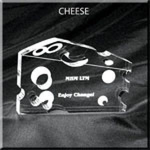 Cheese Shaped Acrylic Award/Paperweight