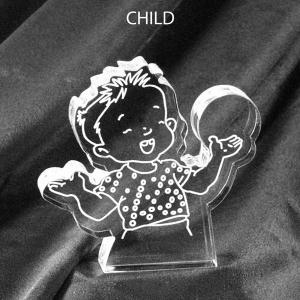 Child Shaped Acrylic Award/Paperweight