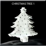 Christmas Tree Shaped Acrylic Award/Paperweight