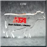 Cow Shaped Acrylic Award/Paperweight