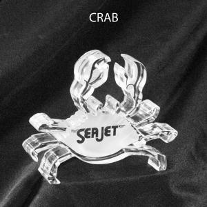 Crab Shaped Acrylic Award/Paperweight